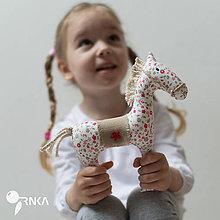 Hračky - koník Kvetka - 6833316_