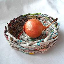 Dekorácie - Košíček MIRKO-14cm - 6833548_