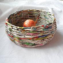 Dekorácie - Košíček MIRKO-18cm - 6833567_