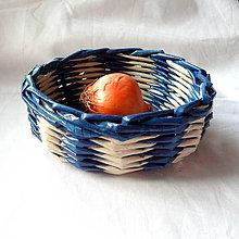 Dekorácie - Košíček MIRKO-15cm - 6833620_