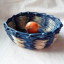 Dekorácie - Košíček MIRKO-20cm - 6833630_