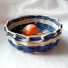 Dekorácie - Košíček MIRKO-18cm - 6833648_