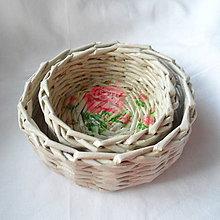 Dekorácie - Sada košíčkov MIRKO-2ks - 6833660_