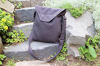 Iné tašky - siva unisex taška - 6831051_