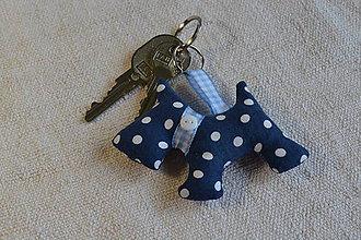 Kľúčenky - kľúčenka prívesok psík - 6831345_