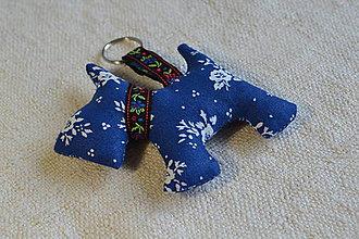 Kľúčenky - kľúčenka prívesok psík (4) - 6833021_