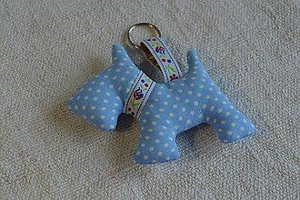 Kľúčenky - kľúčenka prívesok psík (15) - 6833031_