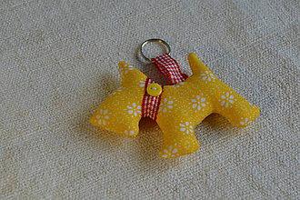 Kľúčenky - kľúčenka prívesok psík (13) - 6833363_