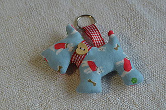 Kľúčenky - kľúčenka prívesok psík (1) - 6833383_