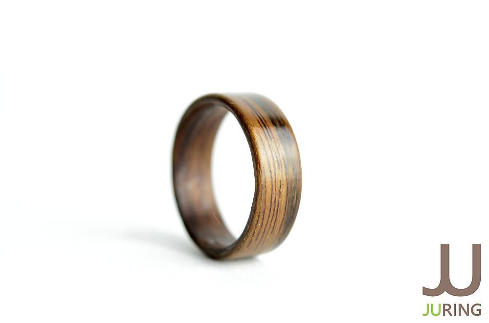 Drevený prsteň Oliva