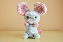 Hračky - Myška Havla - 6834798_