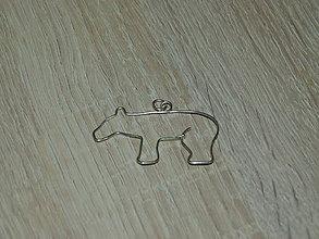 Náhrdelníky - Medveď - 6836533_