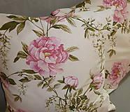 Úžitkový textil - Vankúš Rose Ag digi - 6837112_