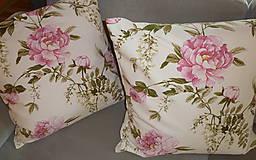 Úžitkový textil - Vankúš Rose Ag digi - 6837114_