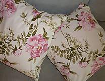 Úžitkový textil - Vankúš Rose Ag digi - 6837115_