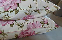 Úžitkový textil - Vankúš Rose Ag digi - 6837116_