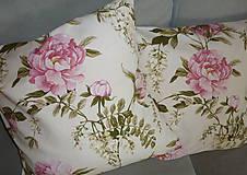 Úžitkový textil - Vankúš Rose Ag digi - 6837117_