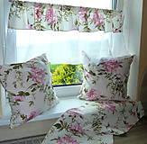 Úžitkový textil - Vankúš Rose Ag digi - 6837213_