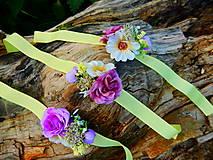 Voňavé kvetinové náramky pre družičky Sme také aké sme :)