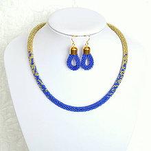 Sady šperkov - Gold/Sapphire Set - 6837841_