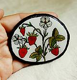 Odznaky/Brošne - lesné jahody... - 6836726_