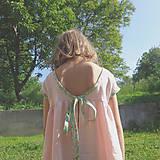 Detské oblečenie - Low Back šaty