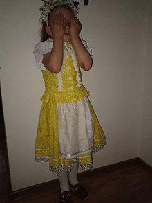 Detské oblečenie - Dievčenský kroj - 6839366_