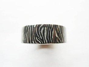 Papier - washi páska - zvierací vzor, zebra - 6840887_