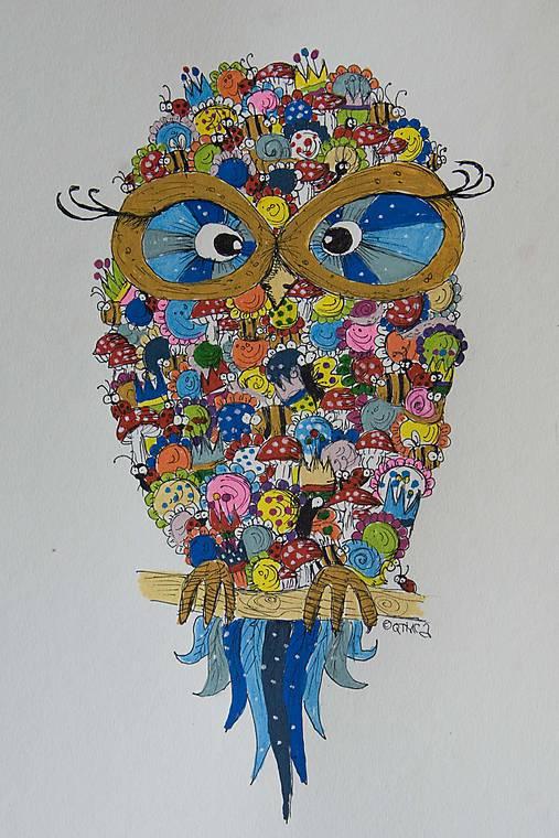 Buho Rozpravkovy Druhy Qtinca Sashe Sk Handmade Kresby