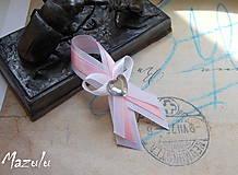 -  svadobné pierka ružovoBiele - 6840050_