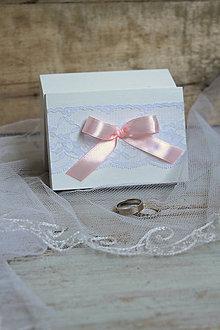 Prstene - Krabička na prstienky Pink Love - 6841608_