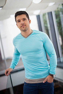 Oblečenie - Pánské 100% LETNÍ MERINO triko Ontario - 6843133_