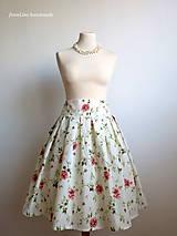 Sukne - nadýchaná suknička Šípková Ruženka - 6840561_