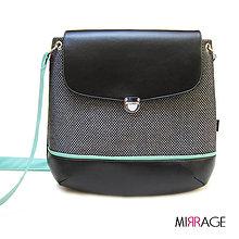 Kabelky - Grace n.33 black & mint - 6841056_