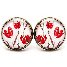 Náušnice - Tulipánky - 6839538_