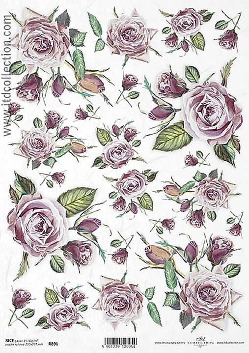 Ryžový papier ITD 891