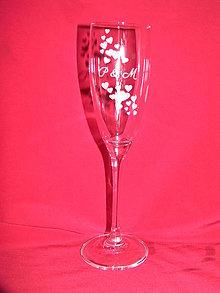 Nádoby - Svadobné poháre + gravirovanie 16 - 6842245_