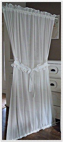 Úžitkový textil - Jemná záclona - 6839844_