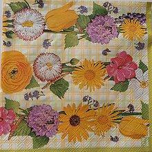 "Papier - Servítka "" Spring Flower Mix"" - 6839640_"