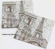 """Papier - Servítka """"Paris"""" - 6840462_"""