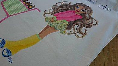 Tričká - Maľované tričko - káva - 6845049_