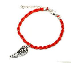 Náramky - anjelske krídlo 1 kabbalah náramok - 6845224_