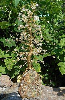 Dekorácie - golden tree - 6844221_