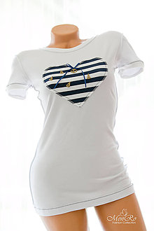 Tričká - Dámske tričko kratky rukáv - 6844882_