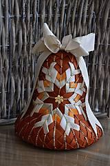 Dekorácie - Vianočný zvon I. - 6845756_