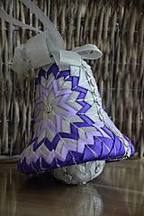 Dekorácie - Vianočný  zvon Elegant - 6845774_