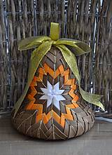 Dekorácie - Vianočný zvon II. - 6845882_