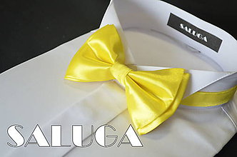 Doplnky - Žltý motýlik - 6844026_