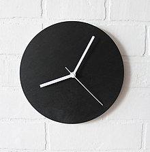 Hodiny - Nástenné hodiny Black&White - 6843940_