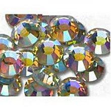 Galantéria - Hotfix kamienky: dúhové - AB crystal, SS6 - - 6844740_